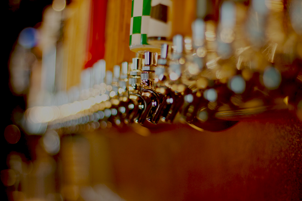 SawMill Taphouse Beer Taps